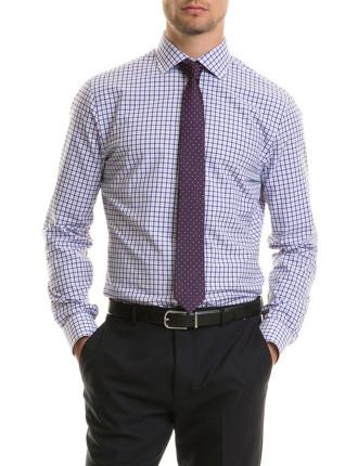 Slim Double Tattersall Shirt