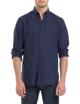 Tattersall Check Flannel Shirt