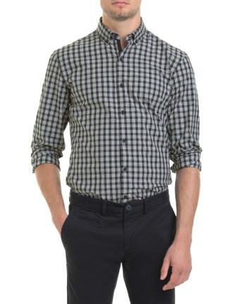 Slim Prince Of Wales Check Shirt