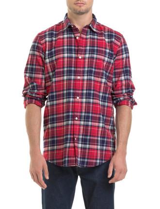 Long Sleeve Lumberjack Check Shirt