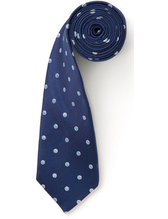 Outlined Dot Tie