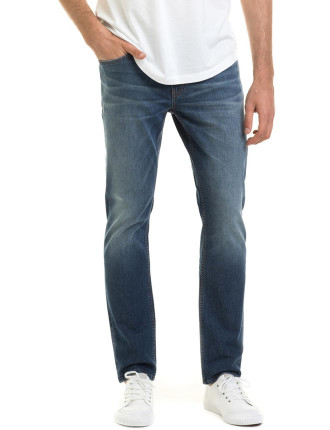 Slim Mid Washed Jean