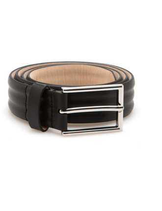 Debossed Leather Belt