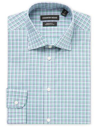 Long Sleeve Tri Gingham Shirt