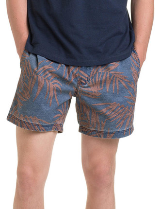 Palm Frond Swim Short