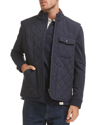 SHANE QUILTED VEST