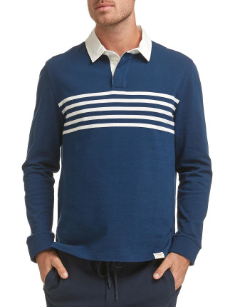 ALEC LS RUGBY POLO