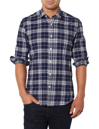 Bluestone Plaid Shirt