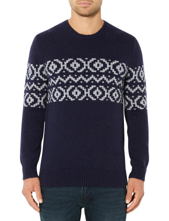 Pattern Knit Jumper