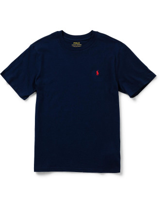 Cotton Jersey Crewneck T-Shirt (8-14 Years)