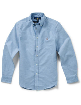 Solid Oxford Shirt (8-14 Years)