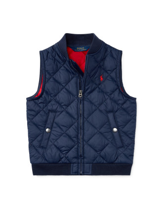 Quilted Vest(2-7 Years)