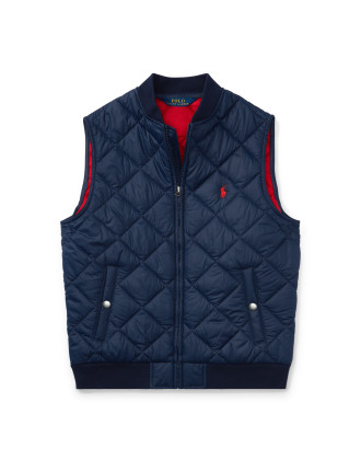Quilted Vest(S-XL)