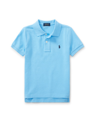 Cotton Mesh Polo Shirt(2-7 Years)
