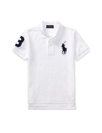 Cotton Mesh Polo Shirt(2-7 Years)
