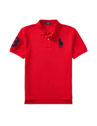 Cotton Mesh Polo Shirt(S-XL)