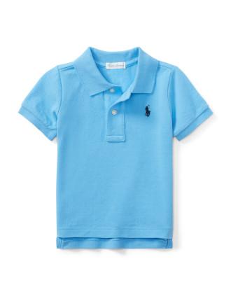Cotton Mesh Polo Shirt(6-24 months)