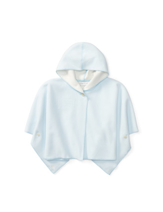 Fleece Hooded Poncho(3-12 months)