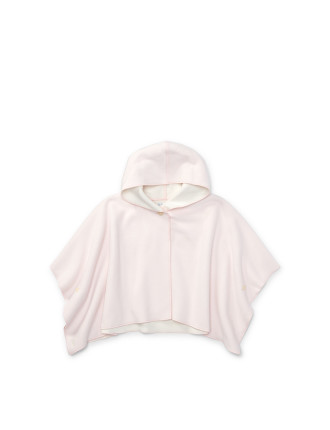 Microfleece Hooded Poncho(3-12 months)