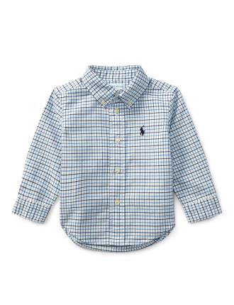 Plaid Cotton Oxford Shirt(6-24 months)