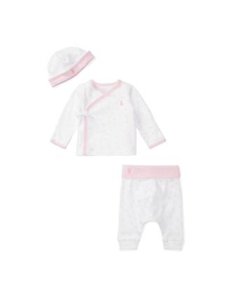 Cotton Kimono 3-Piece Gift Set(3-9 months)
