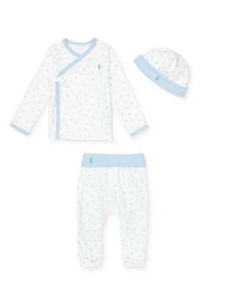 Kimono, Pant & Hat Set(3-9 months)