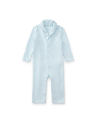 French-Rib Cotton Coverall(3-12 months)