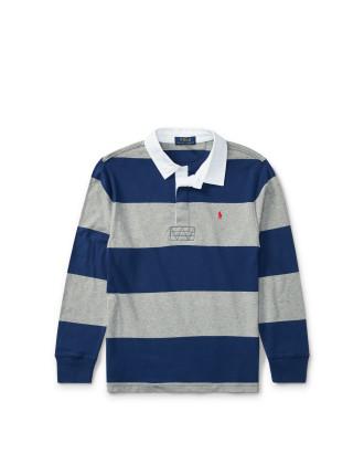 Cotton Jersey Rugby Shirt(S-XL)