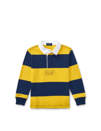 Striped Cotton Rugby Shirt(2-7 Years)