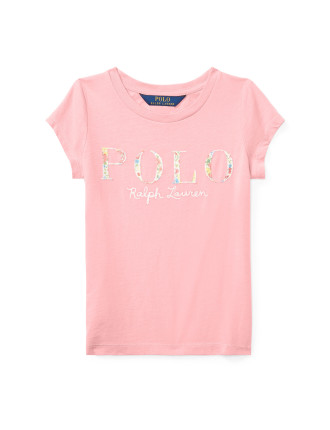 Polo Cotton Jersey Graphic Tee(2-7 Years)