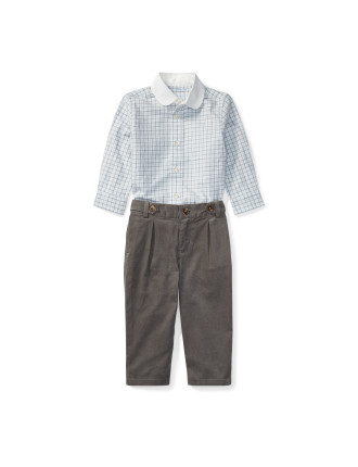 Cotton Shirt & Trouser Set(6-24 months)