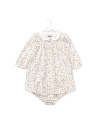 Floral Jersey Dress & Bloomer(3-24 months)