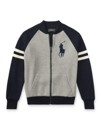 Cotton Full-Zip Sweater(S-XL)