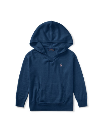 Jersey Hooded Sweater(2-7 Years)
