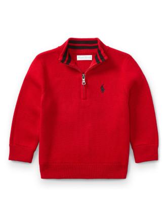 Cotton Half-Zip Sweater(6-24 months)