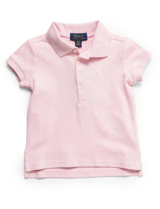 SHORT SLEEVE MESH POLO (2-7 Years)