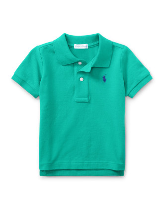 Cotton Mesh Polo Shirt(6-24 months)