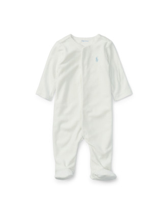 Tattersall Cotton Coverall(0-9 months)