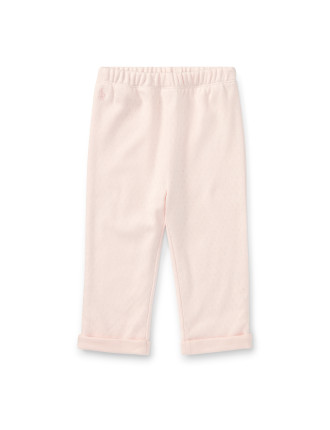 Pointelle Cotton Pant(3-12 months)