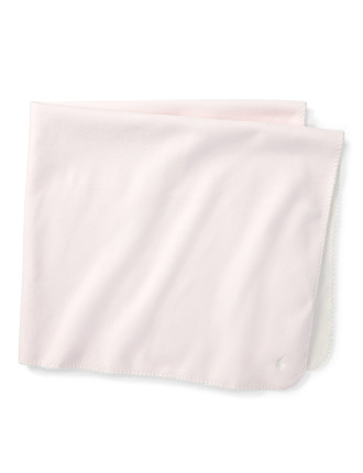 Whipstitched Fleece Blanket(ONE SIZE)