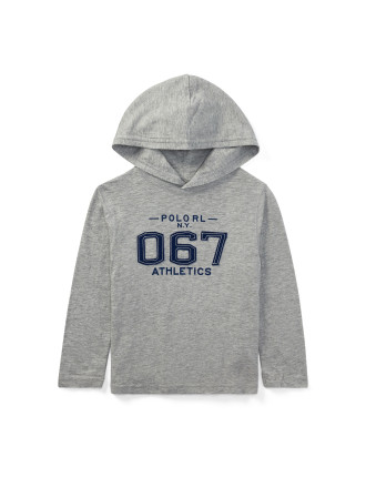Cotton Jersey Hooded T-Shirt(2-7 years)