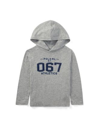 Cotton Jersey Hooded T-Shirt(S-XL)