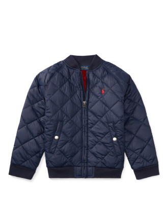 Quilted Baseball Jacket(2-7 years)