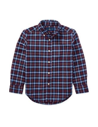 Plaid Cotton Oxford Shirt(2-7 years)