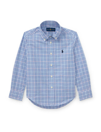 Long Sleeve Poplin Shirt (2-7 Years)