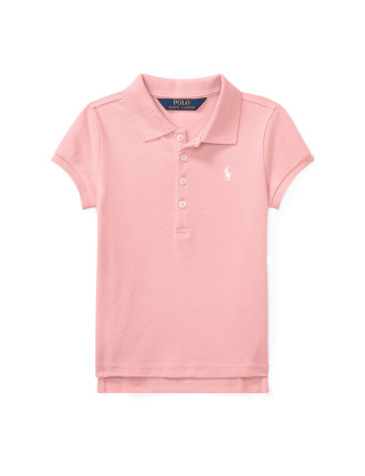 Stretch Cotton Polo Shirt(2-7 years)