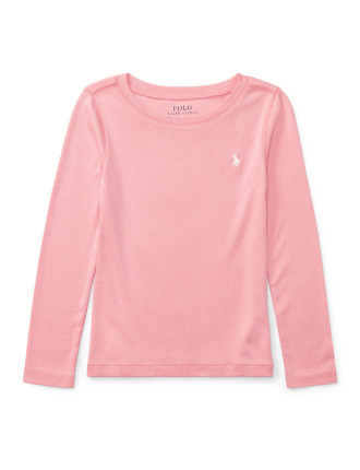 Cotton-Blend Long-Sleeve Tee(2-7 years)