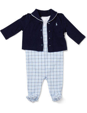 Three Piece Set (0-24 Months)