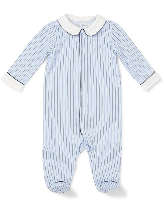 Stripe Coverall (0-24 Months)
