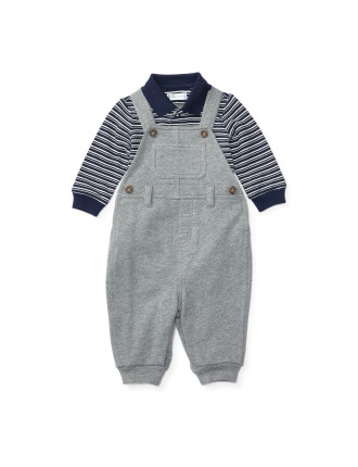 Overall Three Piece Set (0-24 Months)